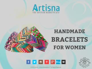 Handmade bracelets for women