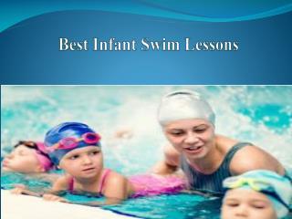 Best Infant Swim Lessons