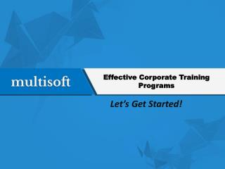 corporate training programes in Noida