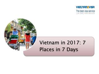 Vietnam in 2017: 7 Places in 7 Days