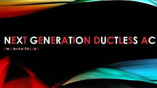 Next Generation Ductless AC