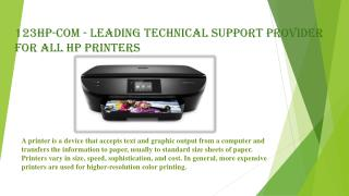 123Hp-Com - Leading Technical Support Provider for All HP Printers