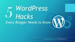 5 WordPress Hacks Every Blogger Needs to Know   YouTube