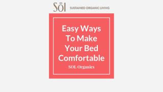 How To Make Your Bedding More Comfortable
