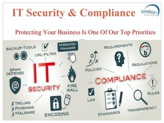 Defend Your Business with IT Security & Compliance Services