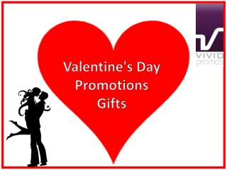 Valentine's Day Gifts from Vivid Promotions