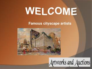 The Famous Cityscape Artists  USA