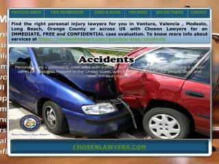 Ojai Injury Lawyer