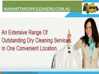 Get the best Curtain dry cleaning service at Manhattandrycleaners.com.au