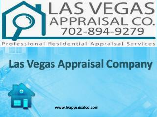 Top Notch Appraisal Service Providers in Las Vegas