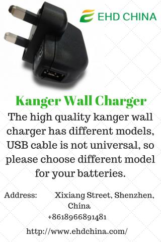 Kanger Wall Charger