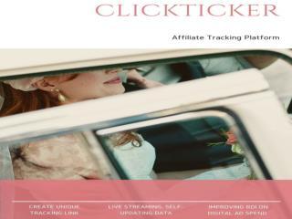 Clickticker-Online Analytics Platform-Affiliate Tracking Platform