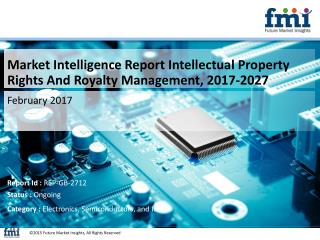 Intellectual Property Rights And Royalty Management Market Poised for Steady Growth in the Future