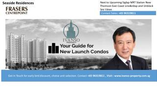 Seaside Residences New Condo in Singapore
