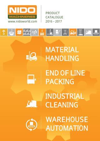 Nido Machineries Product Catalogue - Material Handling India
