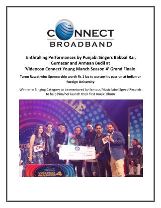 Videocon Connect Young Manch 4 Grand Finale