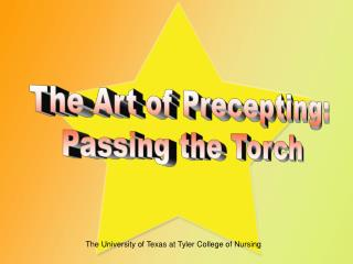 The Art of Precepting: Passing the Torch