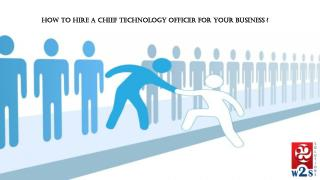 How and why your startup should hire a cto