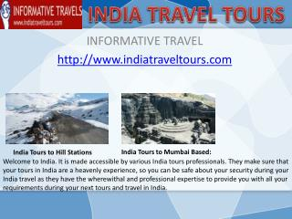 Tours and Travel in India