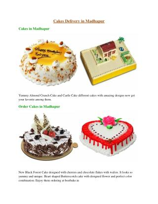 Cakes Delivery in Madhapur, Order Cakes in Madhapur - Bestbake.in