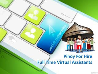 Pinoy For Hire The Affordable SEO Services