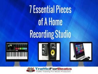 How To Build a Home Recording Studio For Cheap