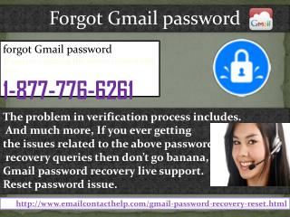 Ring Forgot Gmail password @1-877-776-6261 to Deploy Us