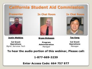 California Student Aid Commission