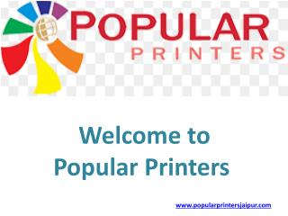 Best popular printers in jaipur