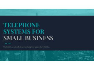 Telephone Systems For Small Business
