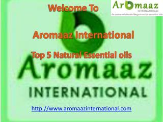 Buy online Top 5 Natural Essential Oils