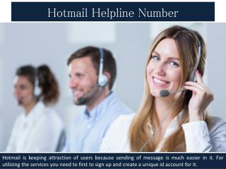 Hotmail helpdesk expert fix all your issue effectively on Hotmail helpdesk number