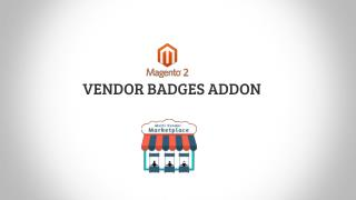 Magento 2 Vendor Badges addon for Cedcommerce Marketplace