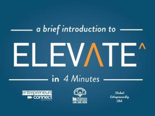 Elevate PowerPoint Deck Introduction - by @itseugenec