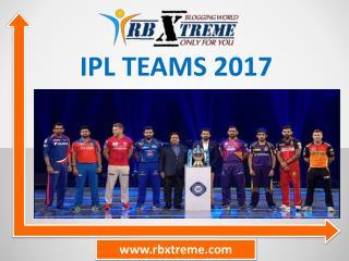 IPL Teams 2017 – IPL 2017 Teams List ( Released & Retained )