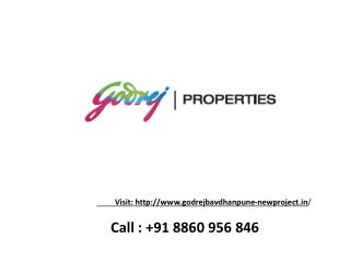 Godrej bavdhan pune - New launch project - call 8860956846