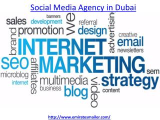 How to get the best Social media agency in Dubai