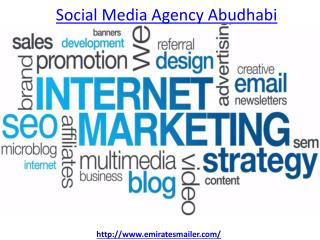 which is the best Social Media Agency in Abudhabi