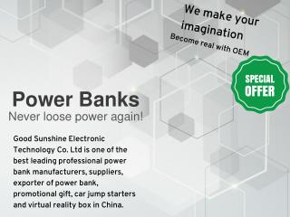 Power Bank Manufacturers & Supplier in China