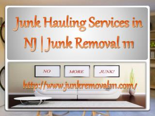 Junk Hauling Services in NJ | Junk Removal 111