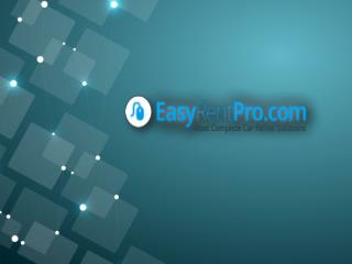 Rent or Hire Car System Software from Easyrentpro.com