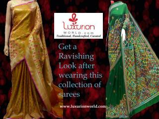 Latest Indian Sarees- Luxurionworld