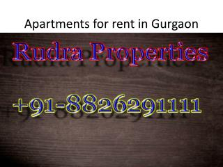 4bhk apartments for rent in gurgaon