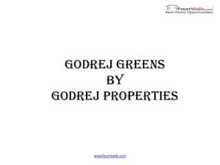Godrej Greens offers 2bhk & 3bhk Newly Launched Flats in Undri Pune by Godrej Properties