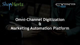Retail Marketing Automation And OmniChannel Retail Experience.