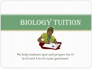 O level biology tuition