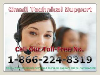 Get Back Gmail Technical Support Number Call Now 1-866-224-8319
