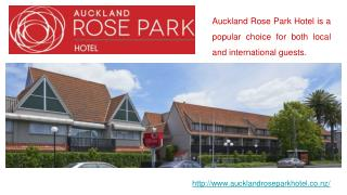 Stunning Corporate Event Venues for Hire at Auckland Rose Park Hotel