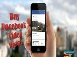 Buying Facebook Video Views at Affordable Price