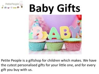 Personalized Baby Gifts Online | Buy Custom Gifts for Newborns: